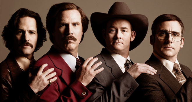 'Anchorman 2' Banner