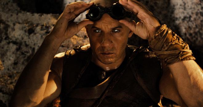 Vin Diesel in 'Riddick'