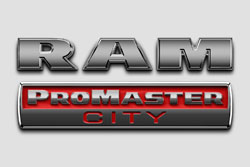Ram ProMaster City badge