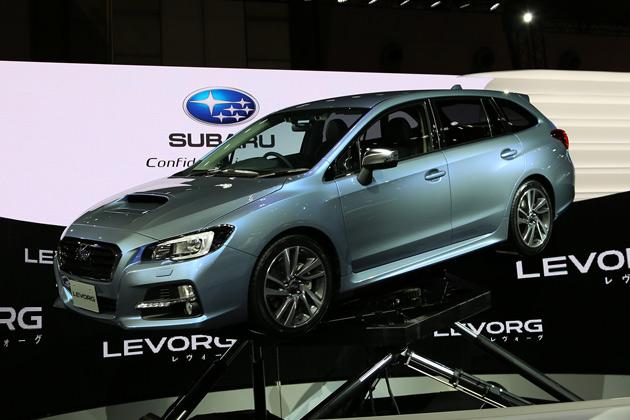 【東京モーターショー2013】スバルの新型車「レヴォーグ」について、開発