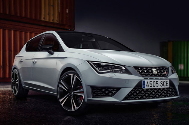 official: seat reveals new leon cupra hot hatches