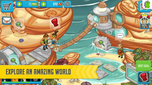 Mobile MMO screenshot