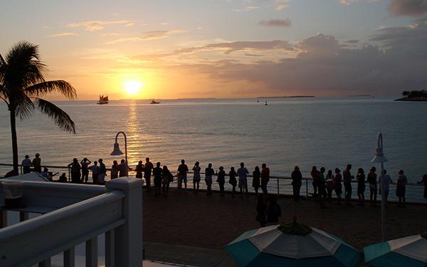 Key West Sunset gathering