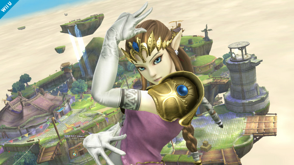 Princess Zelda Confirmed for Super Smash Bros. Wii U/3DS