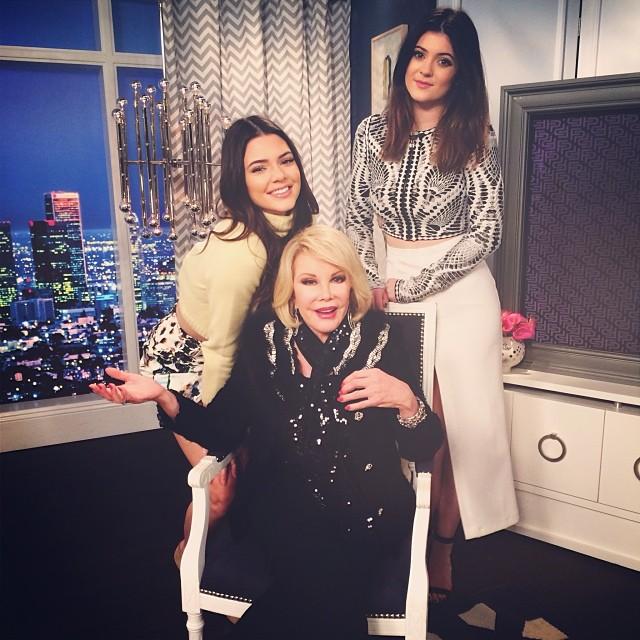 Kendall Jenner, Kylie Jenner, Joan Rivers