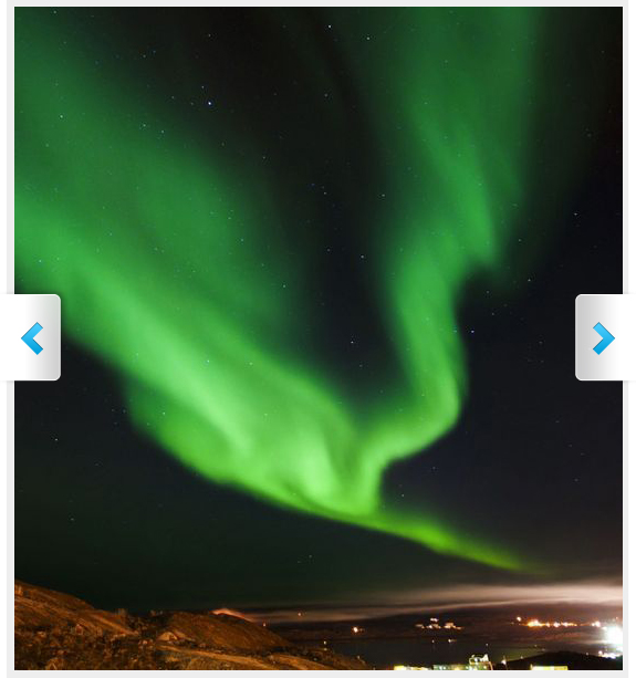 Photos of the Northern Lights