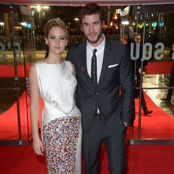 Jennifer Lawrence, Liam Hemsworth