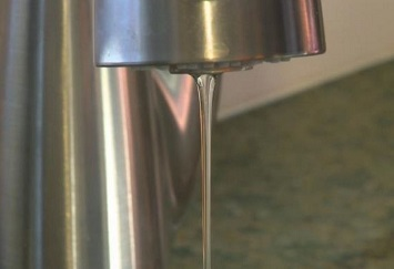 open faucets to keep pipes from freezing