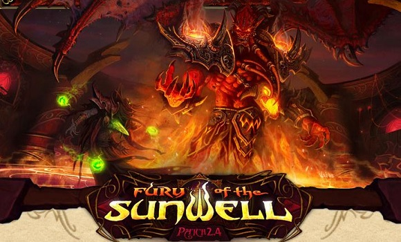 Fury of the Sunwell logo