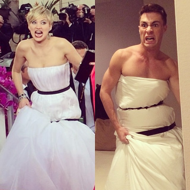 Jennifer Lawrence, Colton Haynes