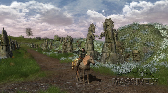 LotRO - Tombs outside Edoras