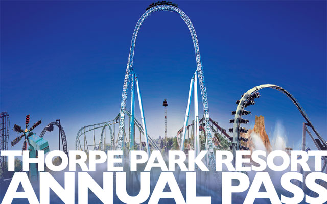 Win a family annual pass to Thorpe Park