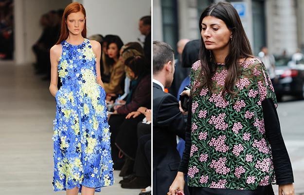 The fresh ways we're wearing spring florals