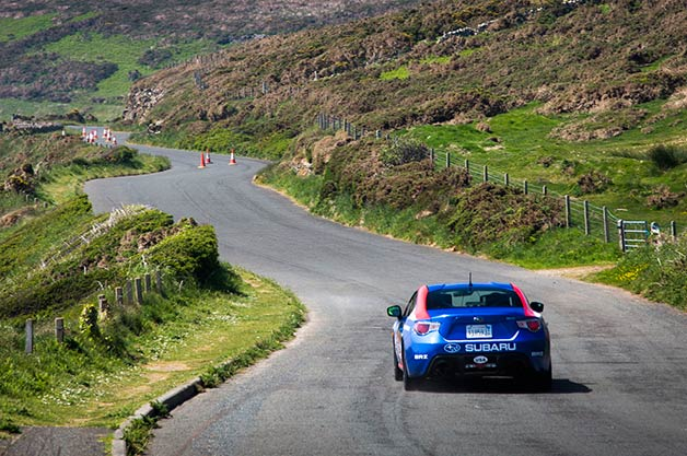 Subaru at the Isle of Man