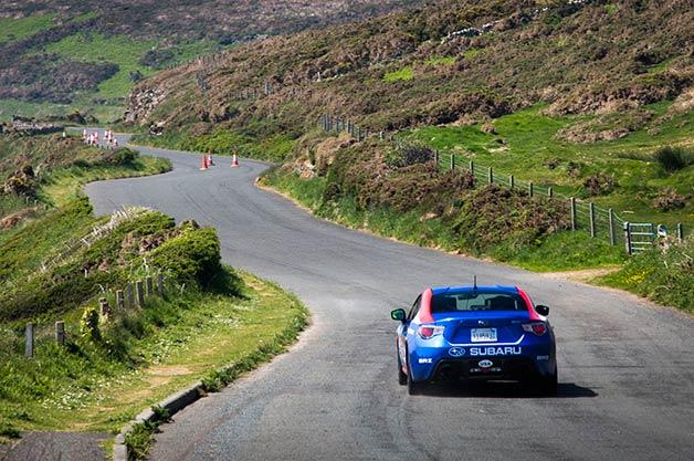 Subaru at the Isle of Man
