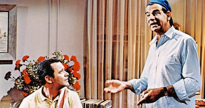 Walter Mattheau, Jack Lemmon, The Odd Couple