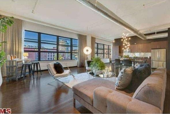 Dave Navarro condo living room hollywood