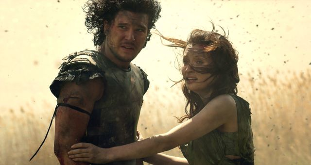 pompeii, kit harington, emily browning