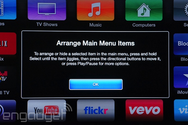 Apple TV update hides unwatched channels with ease