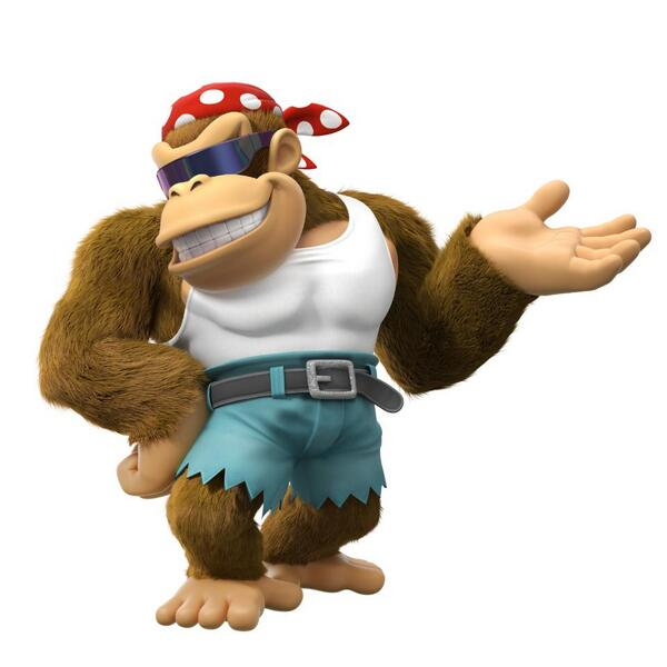 Funky Kong is the Newest DK: Tropical Freeze Character