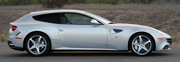 2013 Ferrari FF side view