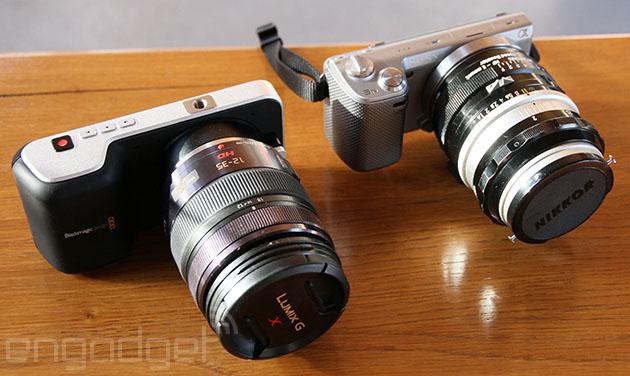 A Closer Look At The Blackmagic Pocket Cinema Camera Engadget