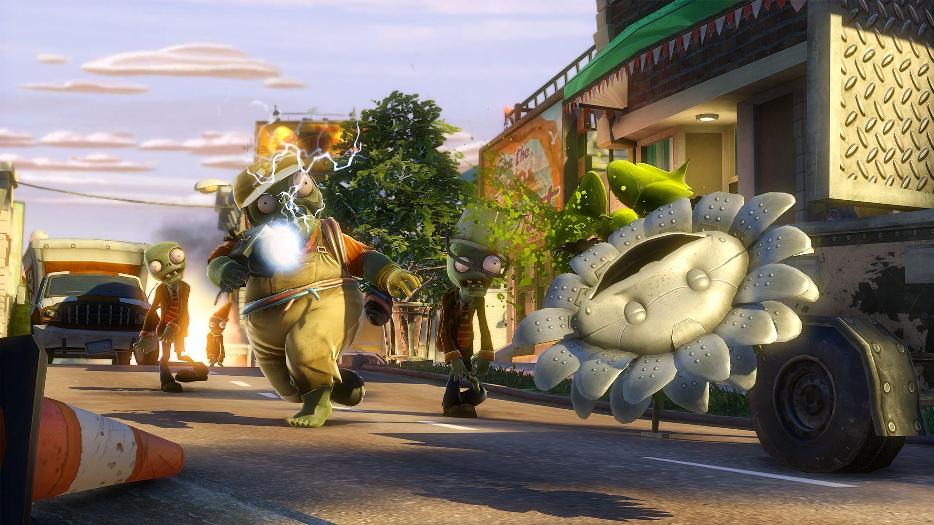 Plants Vs Zombies Garden Warfare Video Review Aol Games
