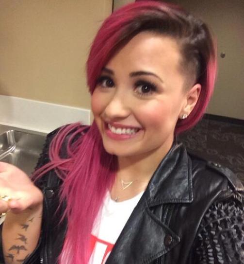 Demi Lovato Shaves Her Head: Pics of Demis New Hair Cut Cambio