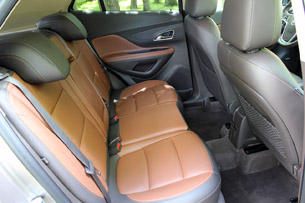 2013 Buick Encore rear seats