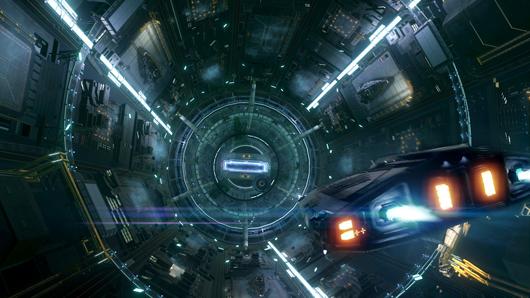 Elite: Dangerous Sidewinder docking
