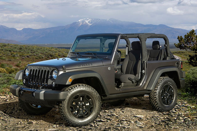La Bound 2014 Jeep Wrangler Special Edition Gives Us The