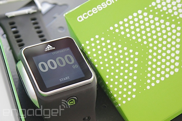 Adidas Smart Run users can now export GPS data, while firmware update improves battery life and media player