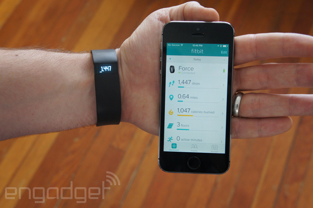 Fitbit app lets you track activity with just your iPhone 5s, no Fitbit device required