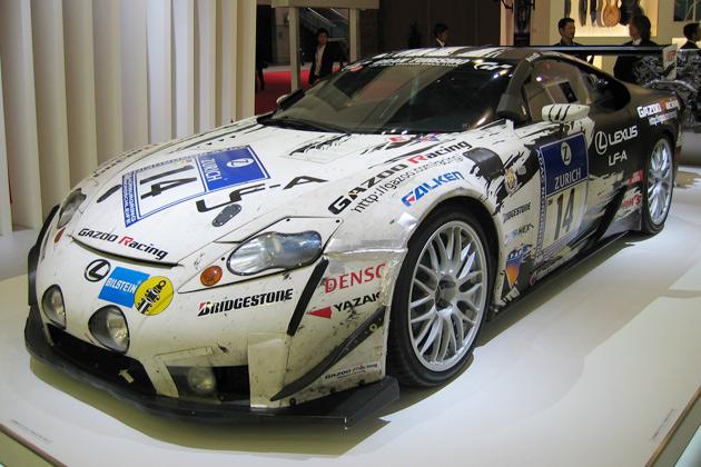 【東京モーターショー2009】ヤマハとの共同開発で生まれたレクサスLFA