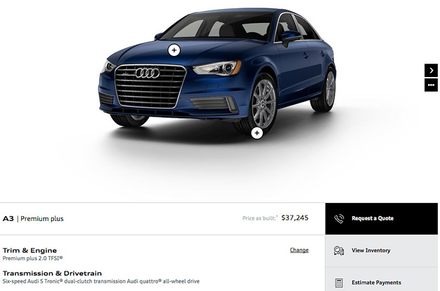 2015 Audi A3 Configurator Is Up And Running Audiforums Com