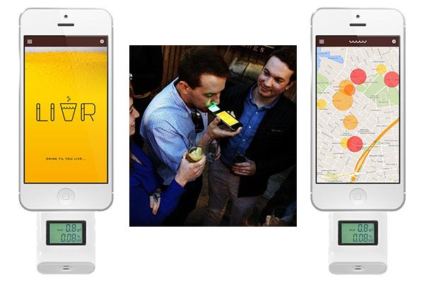 LIVR, una red social a la que solo podrás entrar borracho