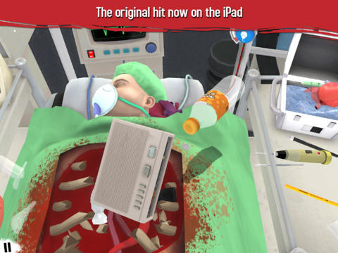 Surgeon Simulator en iPad