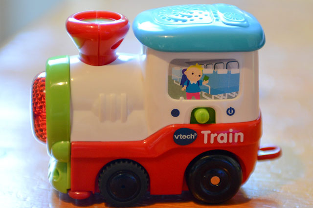 Toddler scalped by toy train