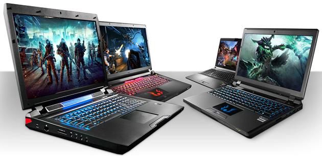 Digital Storm Javelin, Lance, Krypton and Behemoth laptops