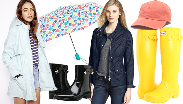 Rainy day chic: The cutest wet-weather gear