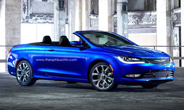 2015 Chrysler 200 Convertible rendering