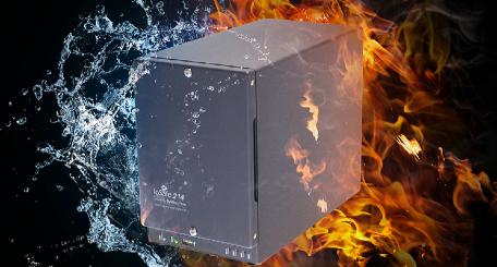 ioSafe, ioSafe 214 NAS, Fireproof, waterproof