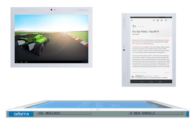 Notion Ink launches oddball tablet with edge-mounted ...