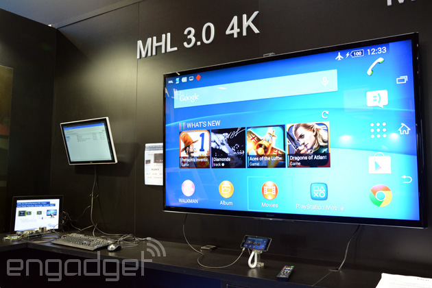 A new MHL adapter charges your phone while sending 4K video to a TV