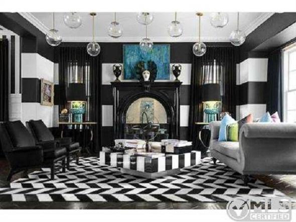 Kourtney Kardashian great room calabasas