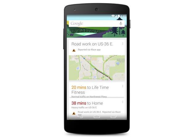Google Search on Android now warns you when traffic grinds to a halt