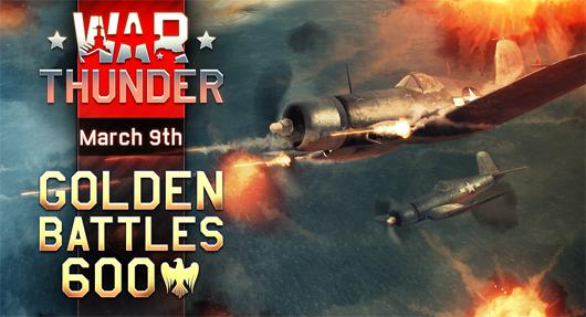 War Thunder Golden Battles banner