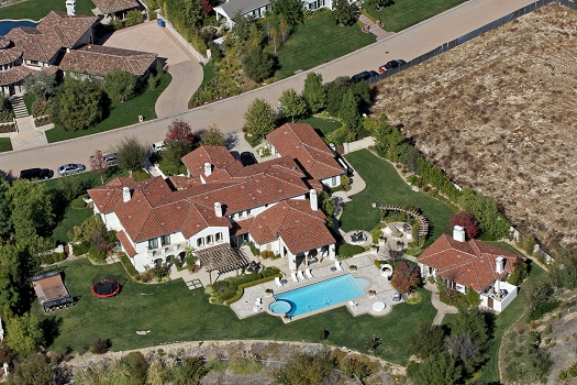 Justin Bieber's house