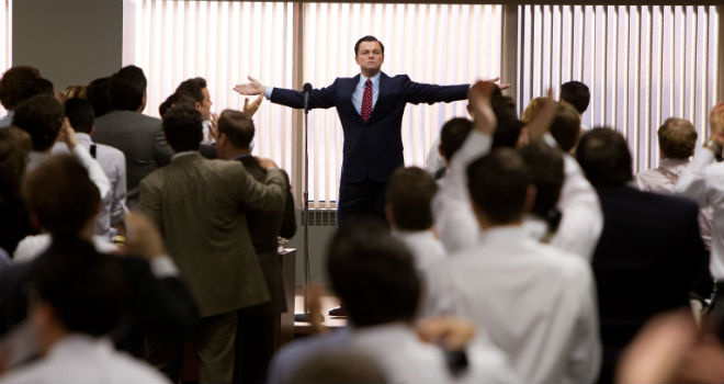 oscars 2014 wolf of wall street
