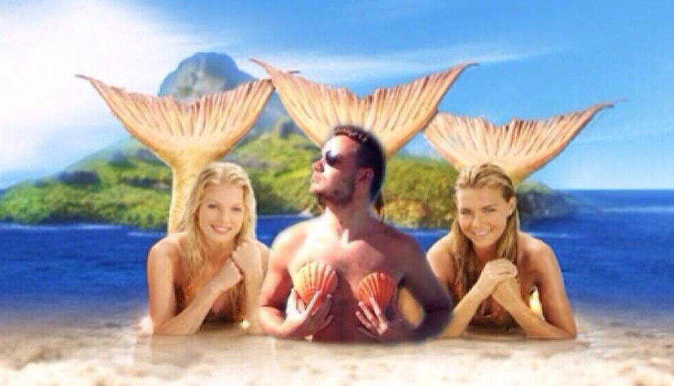 Liam Payne mermaid